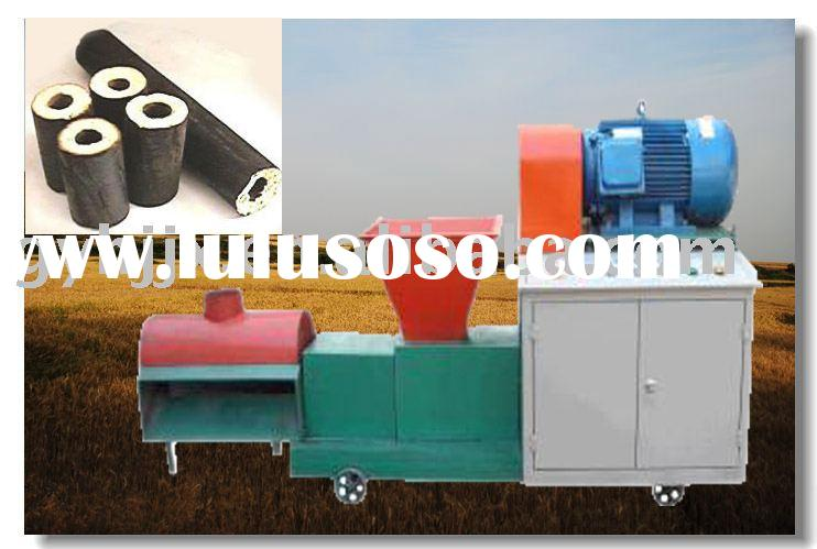 charcoal powder pressing machine< for charcoal briquettes>