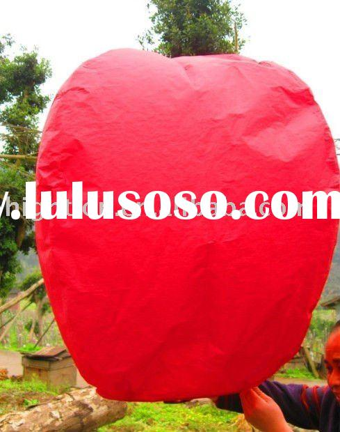 fireproof paper chinese sky lantern for new year
