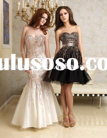 hot selling glamour and brilliant evening dress, prom gownsXY9518