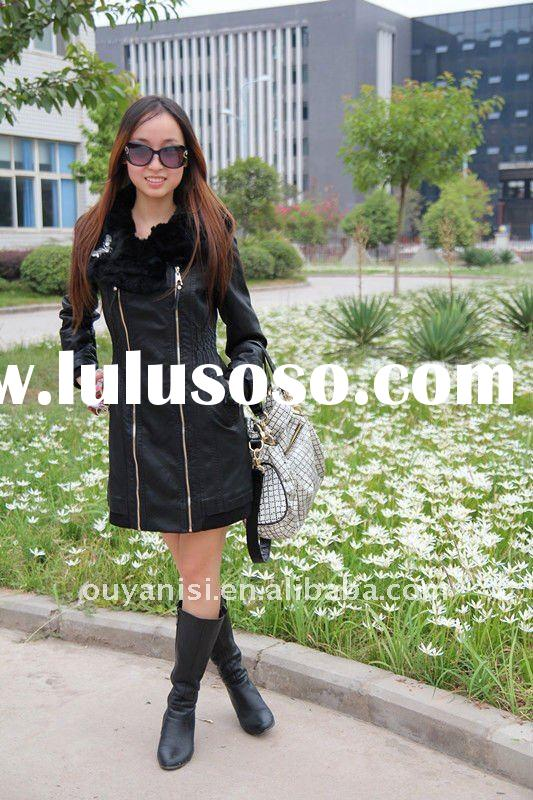 hot selling wholesale boutique clothing made in China, brand women stock goods, fur coat for women