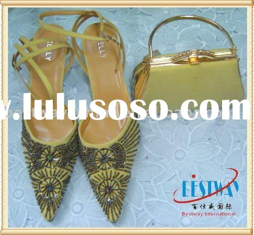 ladies evening shoes and bags