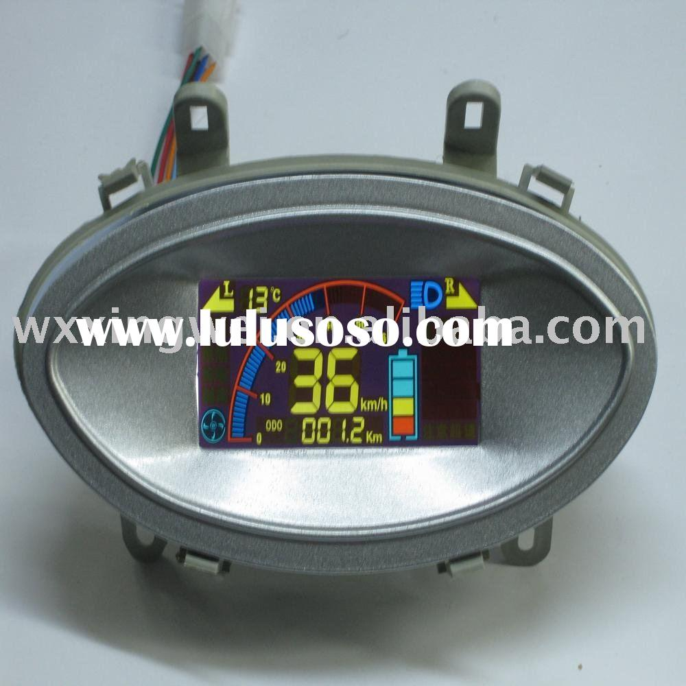 lcd display speedometer for American market