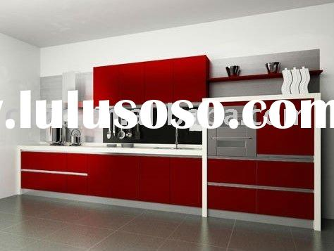 modern kitchen cabinet(uv high glossy panel for kitchen cabinet door)