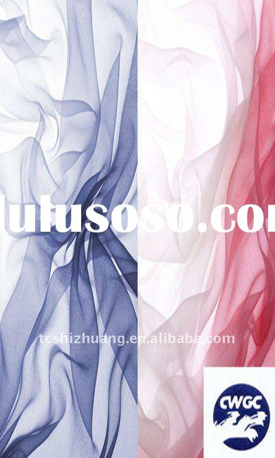 plain dyed silk chiffon fabric ,plain silk chiffon fabric