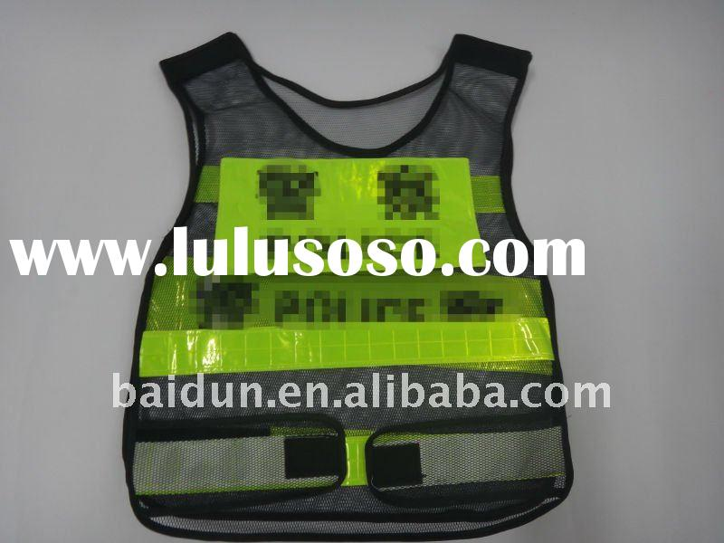 police and traffic Hi-visibility reflective safety vest ,Police Reflective Vest