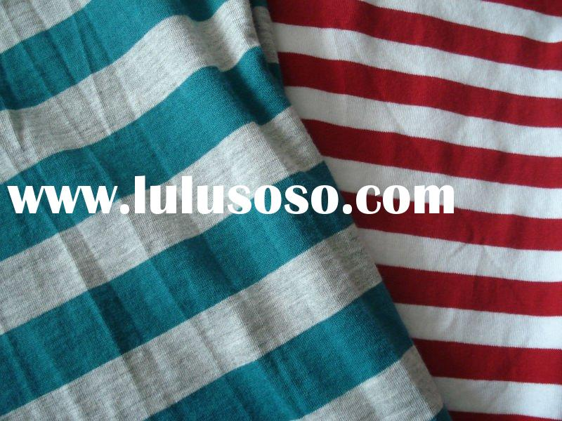 printed viscose spandex jersey knitted fabric