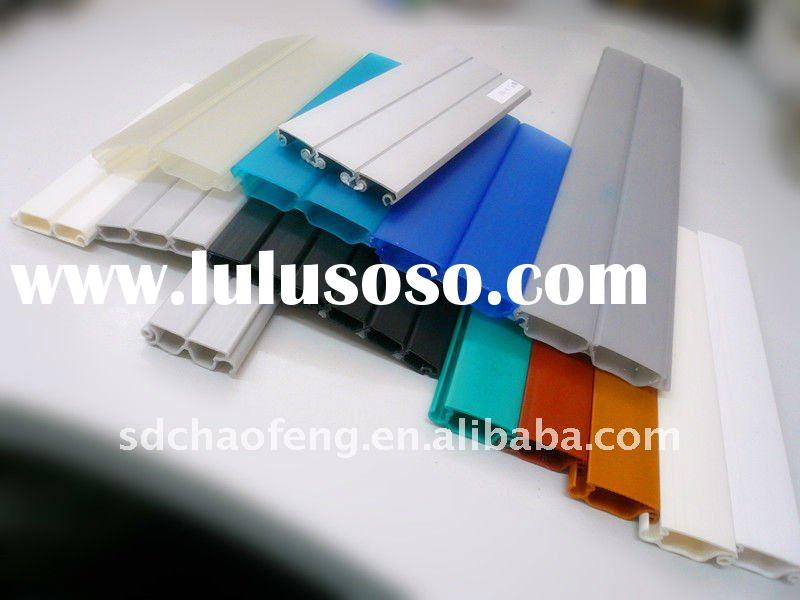 roller shutter slat in colorful
