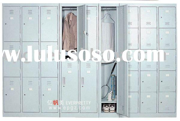 stainless steel wardrobe cabinet,steel storage