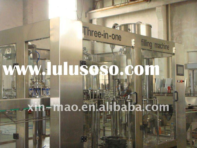 three-in-one mineral water filling machine