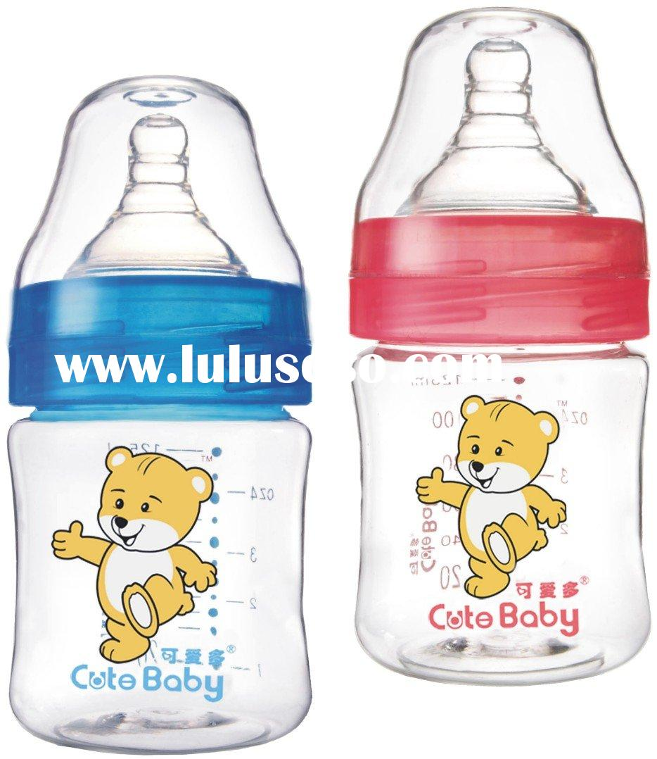 wide neck PC baby bottle feeding bottle factory