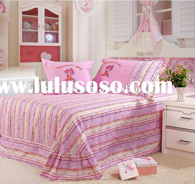100%cotton printed duvet cover set for children