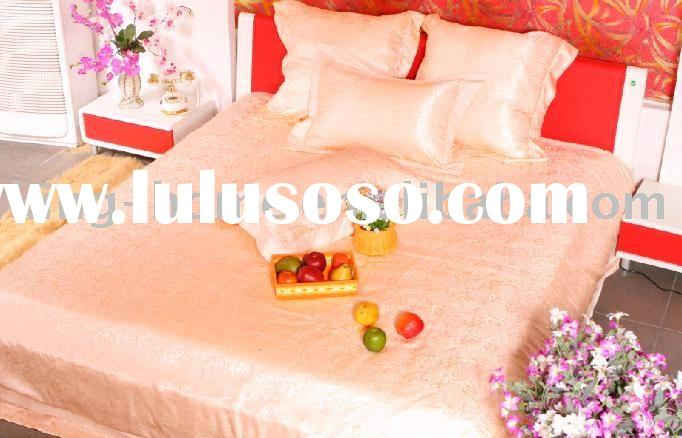 100% silk bedding set product/home textile