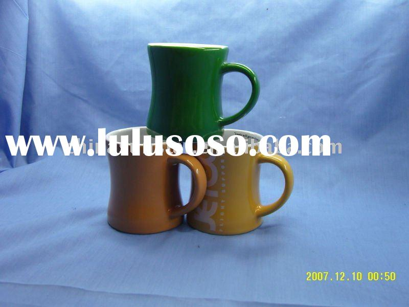 10oz Ceramic Custom Printed Diner Mugs