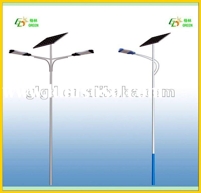 12V/24V DC Solar LED Street Light single arm double arm