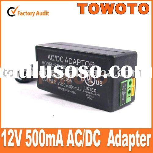 12V 500mA AC/DC power adapter