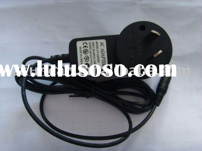 12V dc adapter saa plug