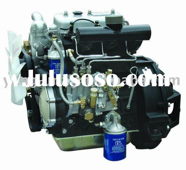 15.3KW water cooled 2 cylinder diesel marine engine