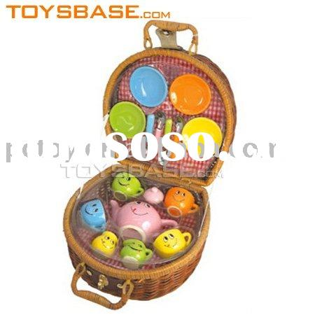 16pcs Nice promotioanl gift kids ceramic tea set toys
