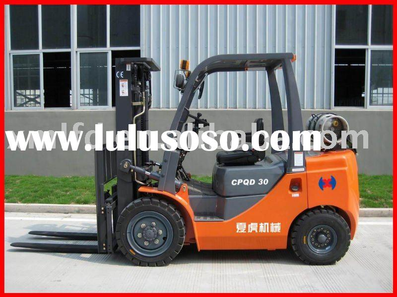 1-3.5 T LPG Dual Fuel Forklift For Good Quality & Good Price