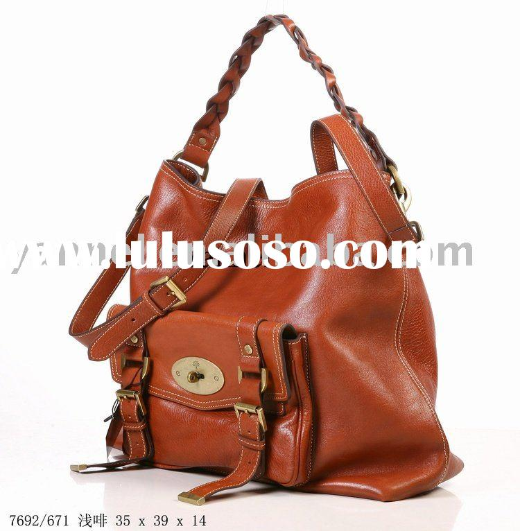 2010 Alexa Hobo Fashion leather bag, leather lady handbag, brand handbag, designer handbag,women bag
