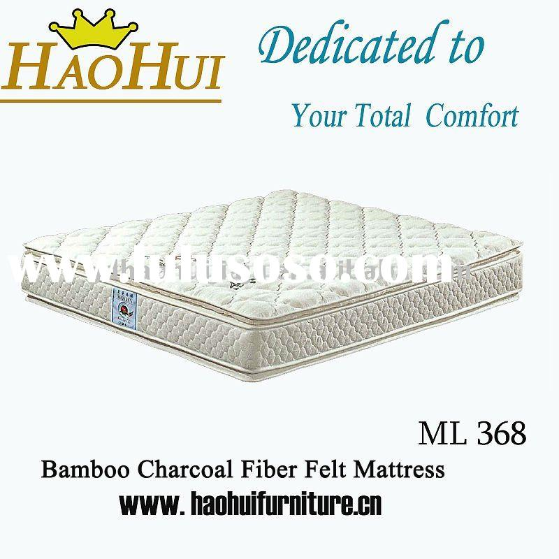 2011 Bamboo Pocket Spring Mattress bed