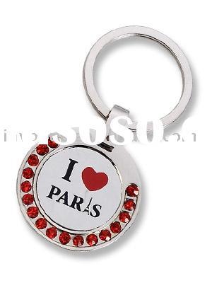 2011 Beautiful Souvenir Metal Keychain