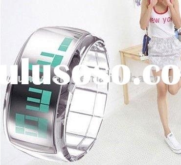 2011 Fashion Cute Led digital Watch For Men&Women With Tin boxes