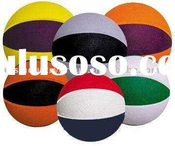 2011 Hot Sell Colorful Rubber Basketball