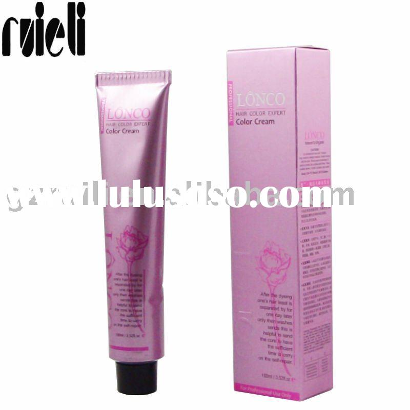 2011 New Arrival LONCO Best Professional Permanent Hair Color Cream / Hair Dye Cream ( Popular color