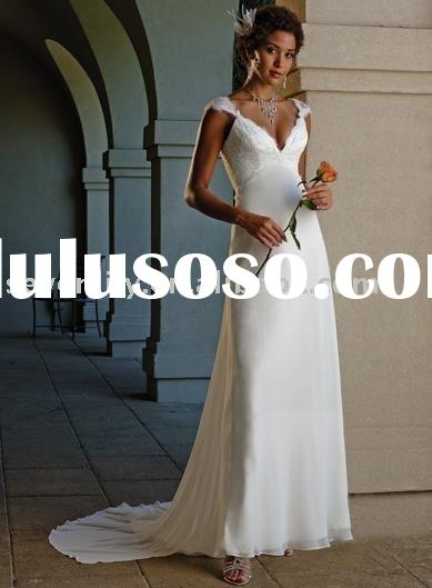 2011 New Cheap Backless Wedding Dresses