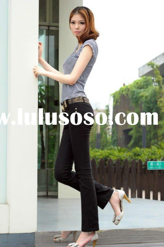 2011 autumn and winter fashion lady jean pants
