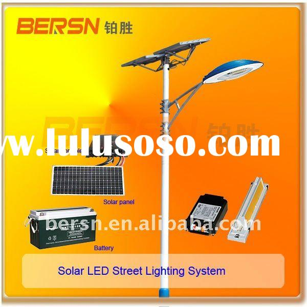2011 high quality solar powered LED street light