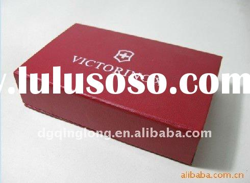 2011 hot product custom red paper decorative cardboard storage boxes with magnet made in china
