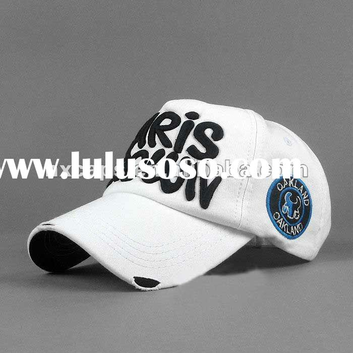 2011 new fashion baseball cap with embroidery logo