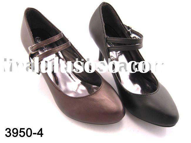 2011 newest pointed dress shoes ladies/strap dress shoes ladies/ladies strap shoes
