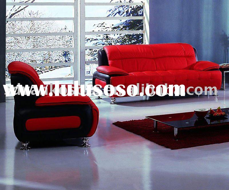 2011 recommended modern leather living room sofa