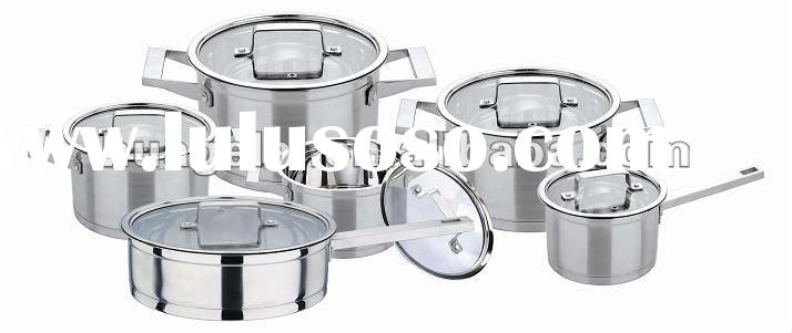 2012 Brand New Stainless Steel Cookware Set