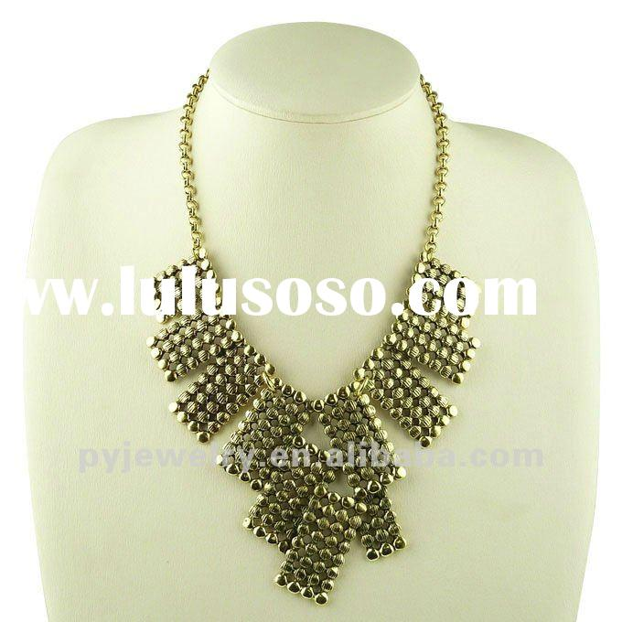 2012 Fashion Bib Necklace,Handmade Vogue Necklace Jewelry