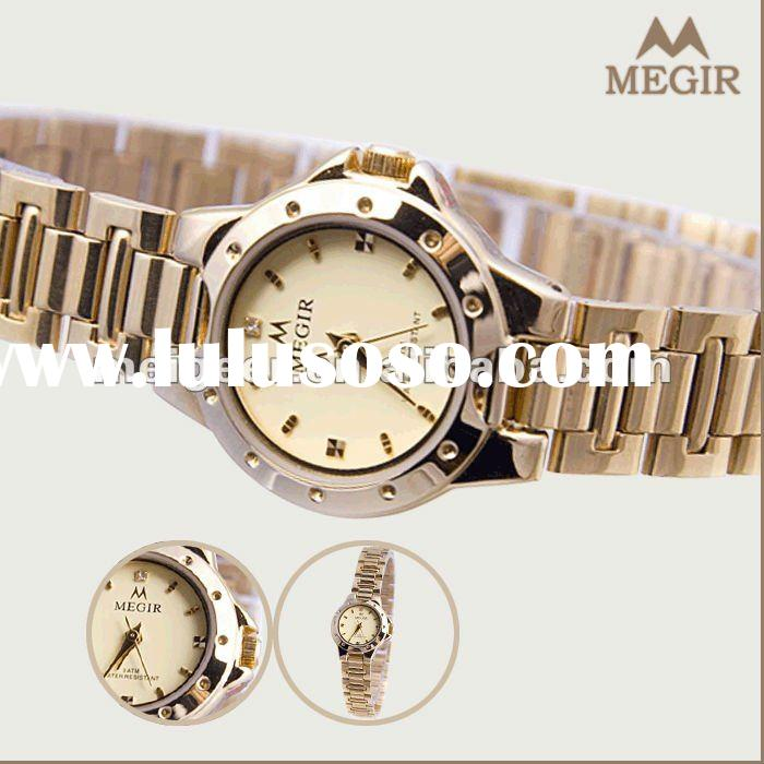 2012 Fashion Style Stainless Steel Back Water Resistant