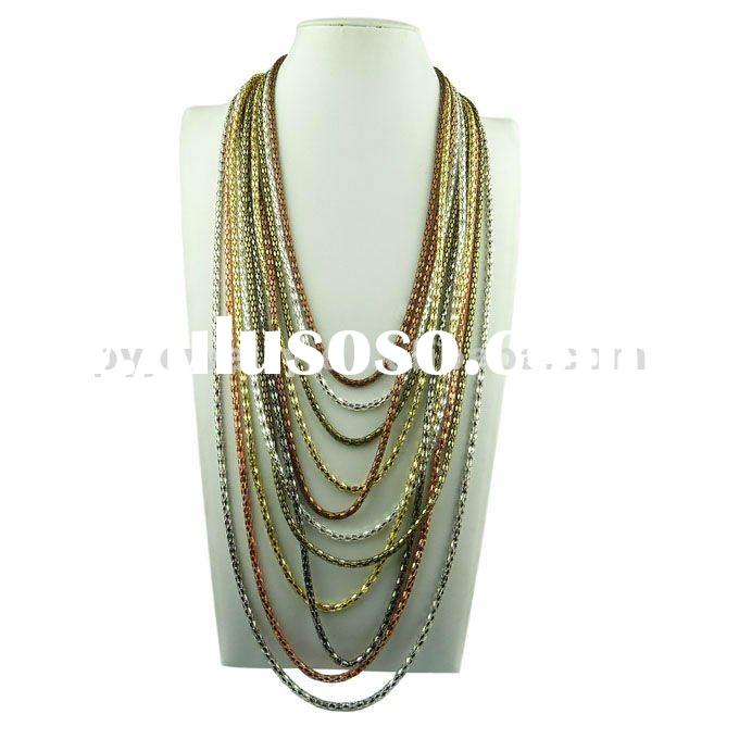 2012 Hot Sale Flexible Bendable Magnetic Snake Necklace,Wholesale Snake Necklace