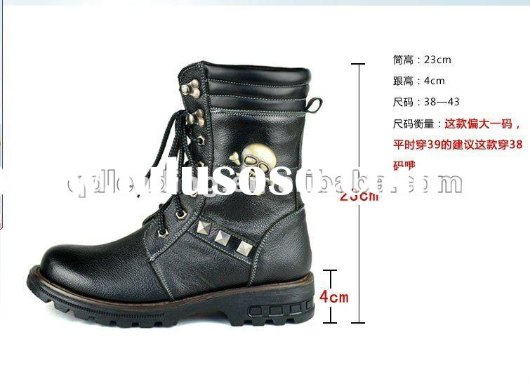 2012 Spring smart design work boot for ladies wholesale