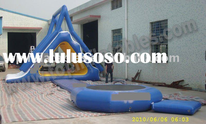 2012 inflatable water trampoline, inflatable water game,water sport equipment, summer water park fun