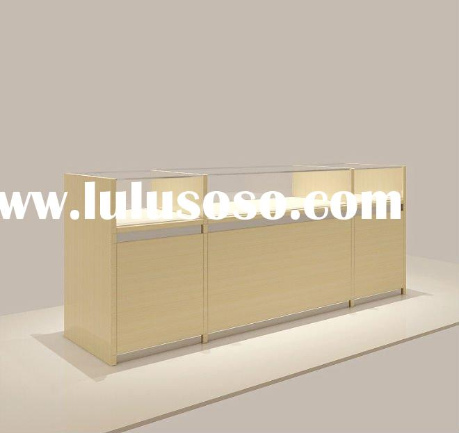 2012 led light jewelry display case with new design