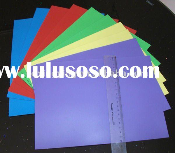 2012 new product pvc flexible plastic sheet