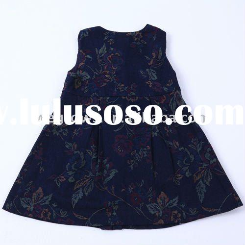 2012 pretty black sleeveless timeless design princess dress,European material,kids and baby wear/dre