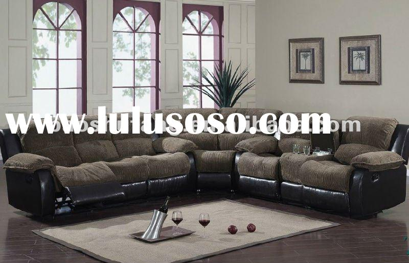 Corner Recliner Sofa Fabric - Rooms