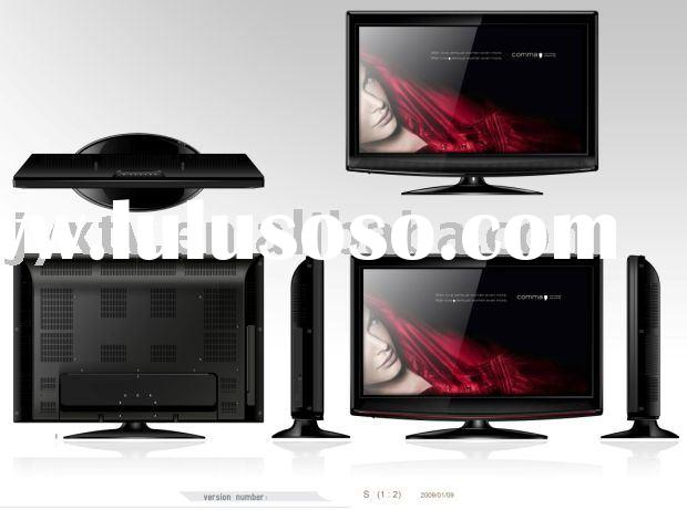 "22"" LCD TV,LCD monitor, Digital TV with DVD and CI functions, LCD TV+ Monitor+ AV"