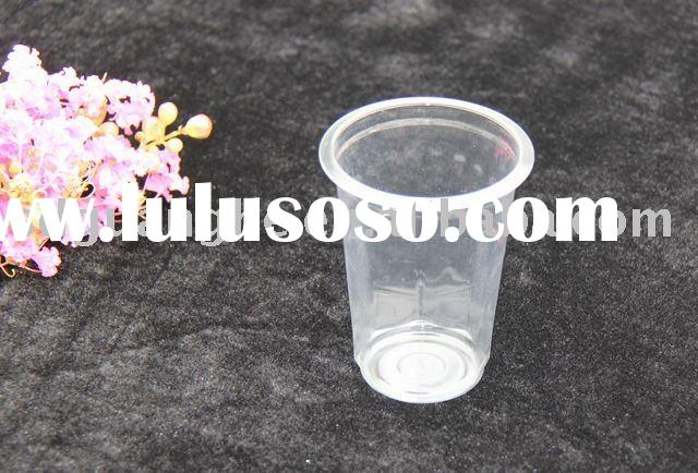 250ml pp plastic water cup for hot and cold drinking