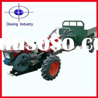 2WD Compact Tractor Walking Tractor with Trailer