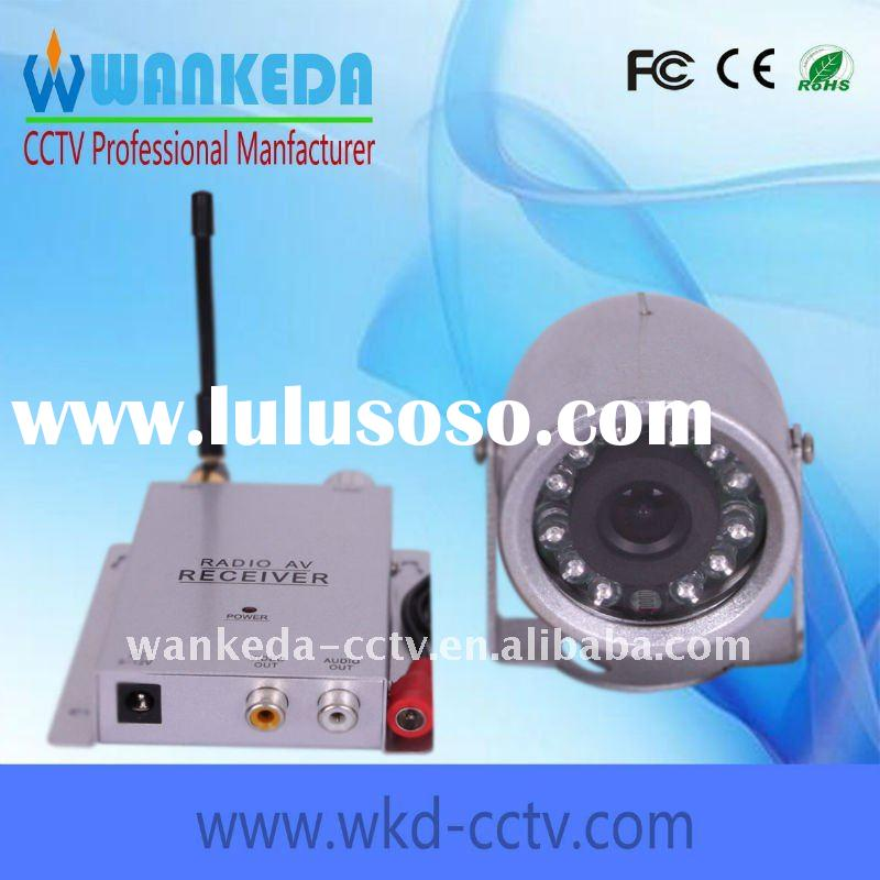 2.4ghz wireless camera with motion detection recorder